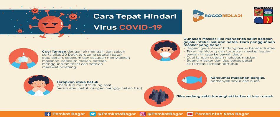 Cara Tepat Hindari Virus COVID-19