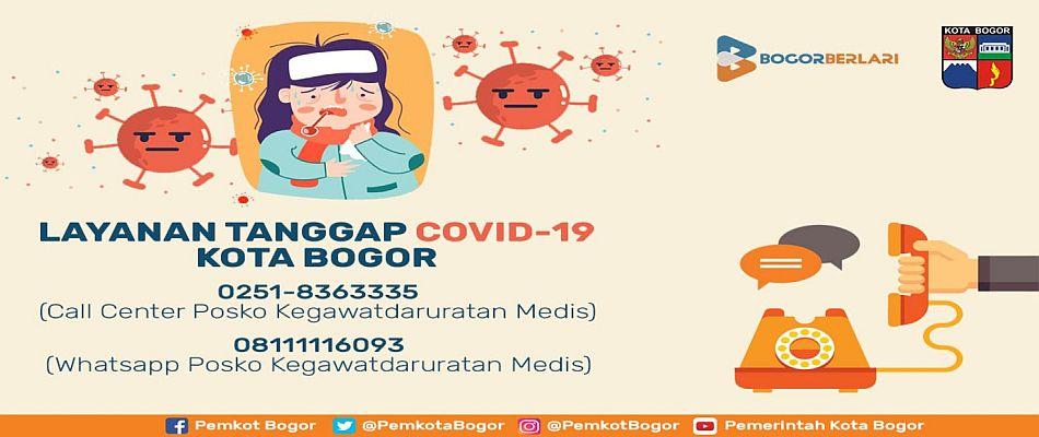 Layanan Tanggap COVID-19 Kota Bogor
